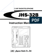 JHS 32BInstruction Manual
