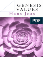 JOAS, Hans. The Genesis of Values (2000)