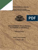 Anglicismos en La Prensa Economica Española Tesis Doctoral