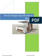 7005307 Scope of Work Attachment a Kiosk Design Specifications Manual