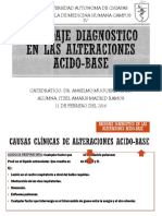 Abordaje Diagnostico en Las Alteraciones Acido-base