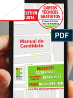 IFSP-manual Do Candidato
