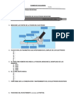 Examen de Soldadura II Itep