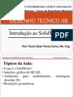 1. Introdução SolidWorks