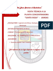 INF.N°02 VISITA A TÉCNICA A LA PLANTA CONCENTRADORA DE JANGAS