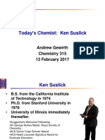 Suslick 315 Lecture