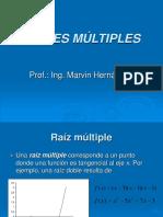 RAICES MÚLTIPLES