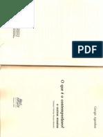 O Que e o Contemporaneo p Email- Agamben