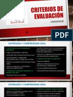 CRITERIOS DE EVALUACIÓN COMUNICACIÓN EXPOSICIÓN.pptx