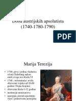 Doba Austrijskih Apsolutista