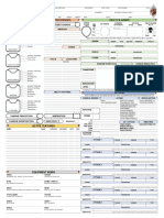 Forged Anvil D&D 5E Character Sheet Printable v2.20 English