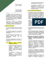 Resumen Capitulos 1 y 2 PMBOK