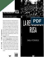 Sheila Fitzpatrick - Revolucion Rusa