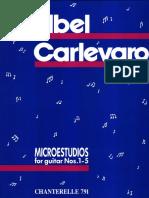 Abel Carlevaro. Microestudios for guitar 1-15.pdf