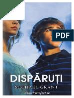 [Disparuti] 01 Disparuti #1.0~5