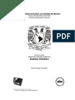 Fuentes - Análisis Climático. Material Del Curso 'Arquitectura Bioclimática' UNAM.