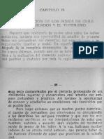 La Organización de Los Indios de Chile El Matriarcados y El Totemismo