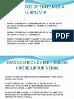 Diagnosticos de Enfermeria Hiperbilirrubinemia