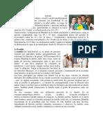 ADOLESCENCIA, Familia, Los Valores