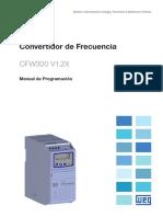 WEG Cfw300 Manual de Programacion 10003639158 1.2x Manual Espanol