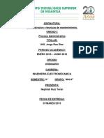 Analisis Administrativo de Una Empresa