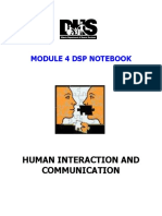Module 4 Notebook Human Interaction and Communication