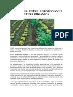 3diferencia Entre Agroecologia y Agricultura Organica