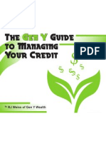 The Gen Y Guide to Managing Your Credit