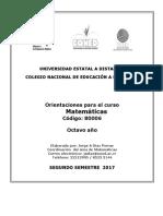 Octavo Matematicas