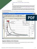 G Function Analysis