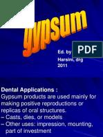 Gypsum 2011