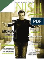 Vanish Magic Magazine Morgan Strebler Edition