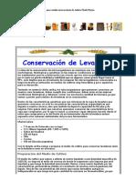 Cerveza de Argentina - Conservación de Levaduras
