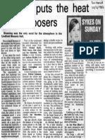 Ian Shanahan - Sun-Herald 20.2.1983 {Echoes} OCR