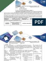 Guía de Actividades y Rúbrica de Evaluación - Fase 4 - Respuesta a Interrogantes Unidad 3