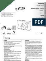 Digital Camera Finepix F20