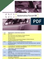 Keynote AM Automotive Forum 08