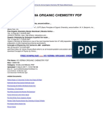 Pdf books tandon op chemistry organic