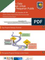 PPT_Pemanfaatan Data Kependudukan Dukcapil - ITB 2015