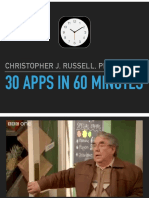 30 Apps in 60 Minutes