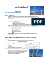 energy and climate summit project