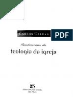 Fundamentos da Teologia da Igreja - Carlos Caldas.pdf