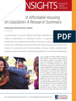 NHC the Impacts of Affordable Housing on Education