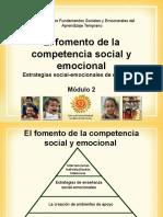 El Fomento de La Comunicacion Social y Emocional