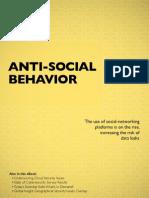 eBook III Anti-Social Behavior