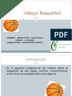 Trabajo de Basquetbol