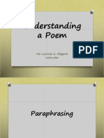 Lesson 4 Understanding a Poem