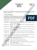 277 (R) Agregados Para Concreto Especificaciones