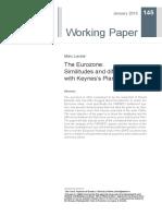 Marc Lavoie (2015) the Eurozone Similitudes and Differences With Keynes's Plan - Copia
