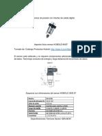 Especificaciones Tecnicas de Instrumentos